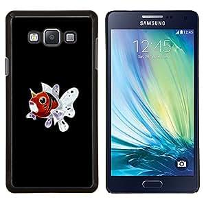 Qstar Arte & diseño plástico duro Fundas Cover Cubre Hard Case Cover para Samsung Galaxy A7 A7000 (Seaking P0kemon)