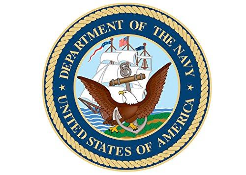 - USN US Navy Sticker United States Military Emblem Seal Emblem Auto Car Decal Window Bumper Sticker Sailor (5