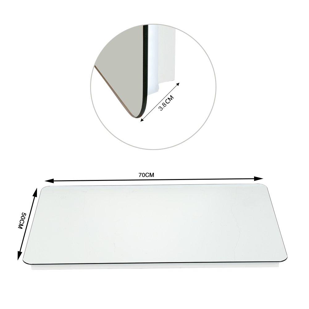 wefun Miroir de Maquillage Intelligent, Bluetooth ,Anti-bu/ée,avec Miroir avec Tactile fix/é au Mur pour Salle de Bain