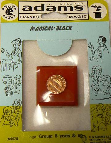 Magical Block - AKA the Penny to Dime Trick (Magic Penny)