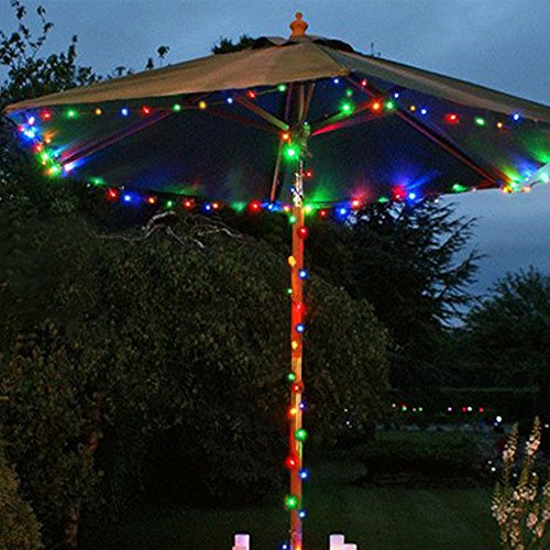USA free shipping Fairy Lights Battery Operated YIHONG 8 Modes String Lights 39FT Copper Wire ...