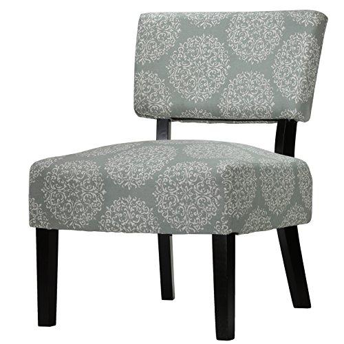 Merveilleux Cortesi Home Largo Damask Armless Accent Chair