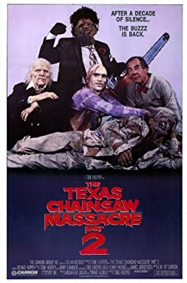 Texas Chainsaw Massacre 2 11 x 17 Movie Poster - Style A - Museum Wrapped Canvas