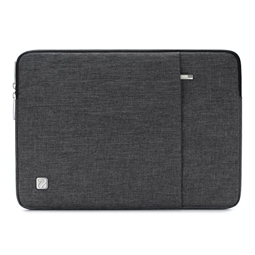 NIDOO 15.6 Inch Laptop Sleeve Case Water-Resistant Protective Cover Portable Computer Carrying Bag Pouch for 15.6