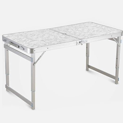 BAACHANG Práctica Mesa Plegable con 2 Juegos de sillas - Mesa de ...