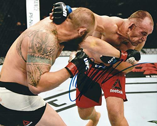 Autographed Oleksiy Oliynyk UFC & MMA 8x10 photo with COA