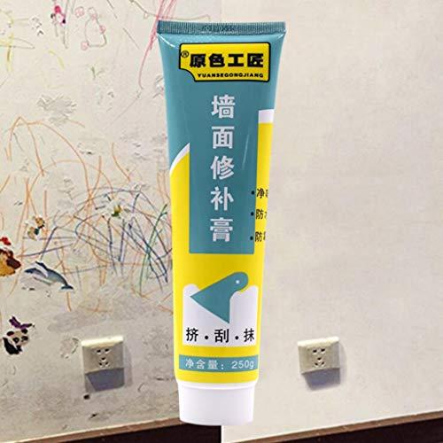 Yukuai Multifunction Instant Waterproof Sealant Repair Paste Magic White Latex Paint Wall Repair Cream Wall Cracks Repair Ointment Kit for Home, Bathroom, Kitchen