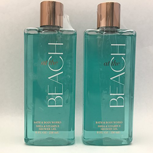 (Pack of 2 Bath & Body Works At The Beach Shower Gel 8 fl.oz)