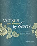 Verses We Know by Heart, Jennifer Devlin, 0892655658
