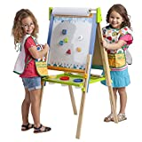 Toys : ECR4Kids 3-in-1 Premium Standing Adjustable Art Easel with Accessories for Kids Play Time
