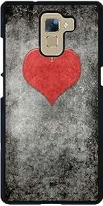 Funda para Huawei Honor 7 - Valentines Vendimia Rouge by BruceStanfieldArtist