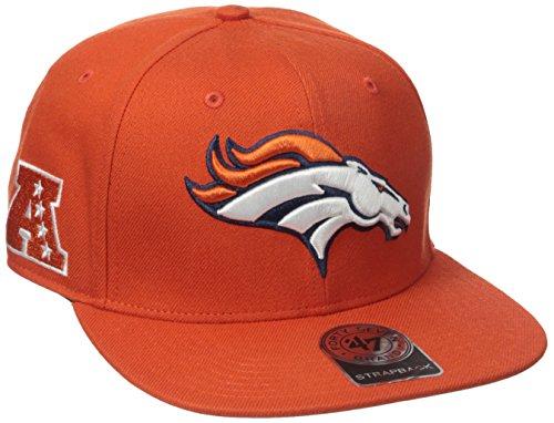 NFL Denver Broncos '47 Super Shot Captain Adjustable Hat, One Size Fits Most, Orange (Denver University Hat)