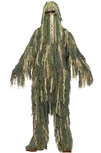 8eighteen Military Spy Hunter Sharpshooter Ghillie Suit Child Costume (Ninja Sharp Feathers compare prices)