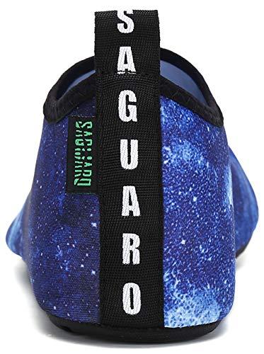 Mond Damen Gr Herren 36 Wassersport Badeschuhe Für Saguaro Barfuß 47 blau FqIawza