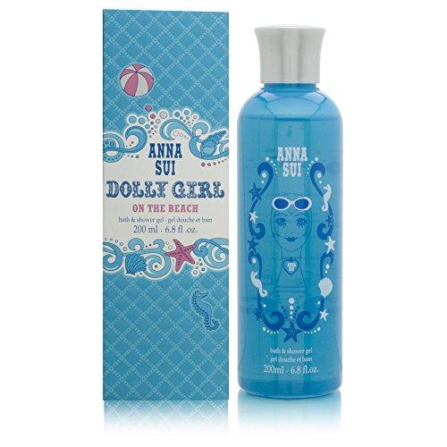 ANNA SUI ON THE BEACH Women Shower Gel 6.8 - Anna Sui Dolly Girl Shower Gel