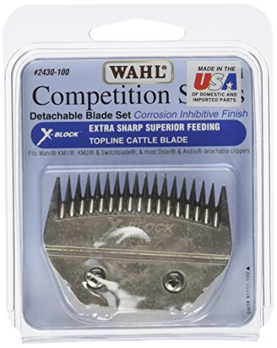 Wahl Clipper Animal X-Block Cattle Competition Blocking B...