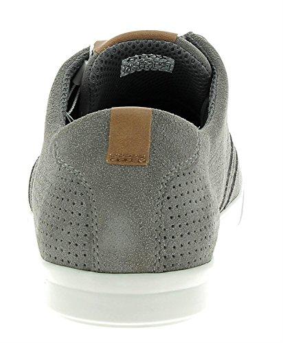 Geox U Walee B Sneakers Basses Homme Gris