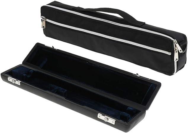 non-brand 1 Pieza Blister Flauta Llevar Estuche Acolchado Bolsa de Concierto Accesorios - Negro 17 Orificios: Amazon.es: Juguetes y juegos