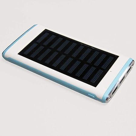 LIUQIAN Cargador Solar Portátil con, Batería Externa Puertos ...