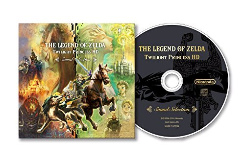 Price comparison product image The Legend of Zelda Twilight Princess HD SPECIAL EDITION SOUND SELECTION CD