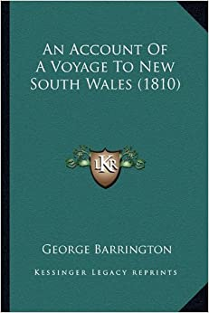 Book An Account of a Voyage to New South Wales (1810)