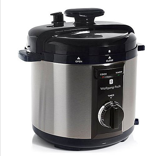Wolfgang Puck BPCRM800R 8-Quart Rapid Electric Pressure Cooker Black