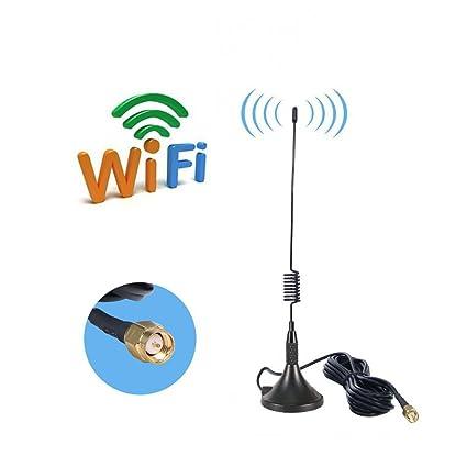 AMAKE 7 DBI SMA Antenna 2.4GHz WiFi/4G LTE/GSM 3G Wide Band