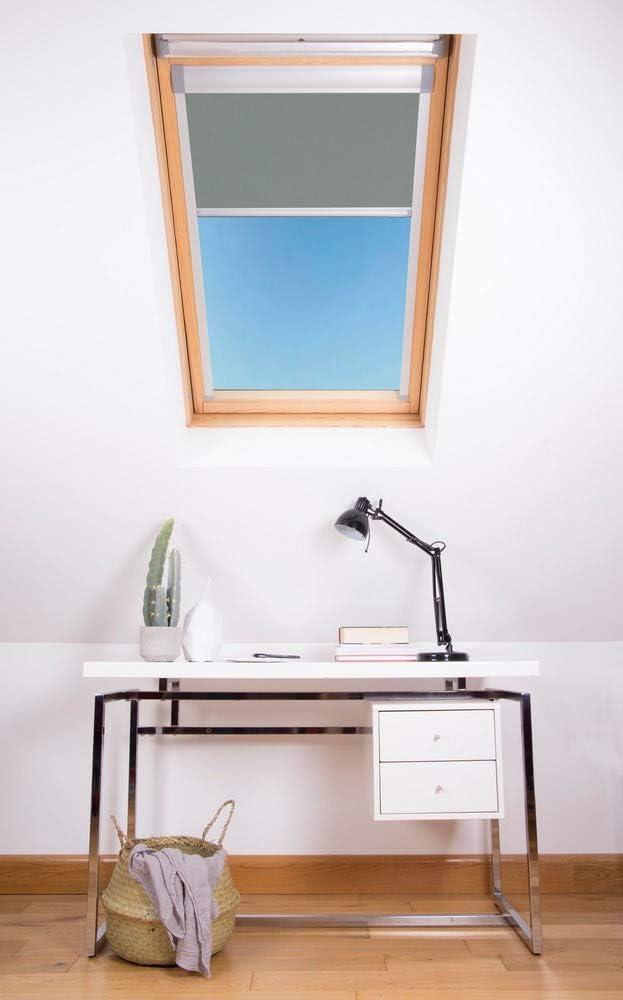 Nero Bloc Skylight Blind CK04/per finestre da Tetto Velux Blockout