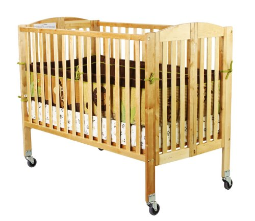 Dream On Me Folding Full Size Convenience Crib, Natural by Dream On Me (Image #3)