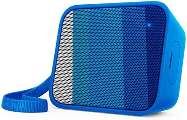 XIAONINGMENG Altavoz Bluetooth BT110B, Multimedia Audio Altavoz, Audio Informática - Negro (Color : Blue)