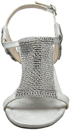 Argenté Ouvert Bout Diamante Slv Silver Klaudia Femme Lotus 716qpw6