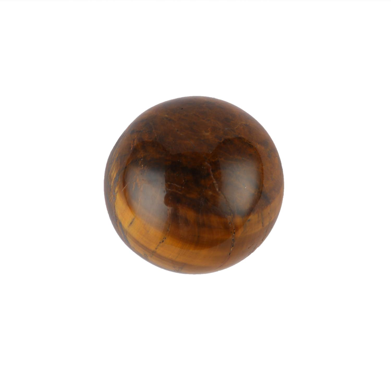 Aatm Healing Gemstone Tiger Eye Sphere Ball Of Decision Making Aatm Collection GAPC-158