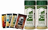 Everglades Seasoning Original All Purpose Seasoning 8 oz 2 Pack with Sample Pouches! Cactus Dust Heat Fish Chicken Rub