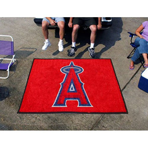 Fan Mats 6405 MLB - Los Angeles Angels 5' x 6' Tailgater (Angels Tailgater Rug)