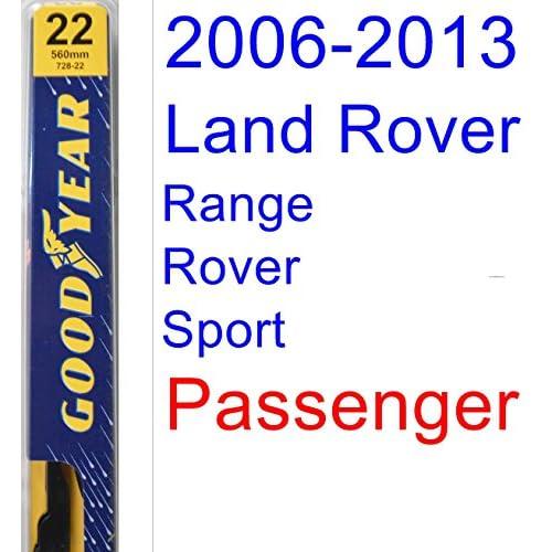 Wholesale 2006-2013 Land Rover Range Rover Sport Wiper Blade (Passenger) (Goodyear Wiper Blades-Premium) (2007,2008,2009,2010,2011,2012) hot sale
