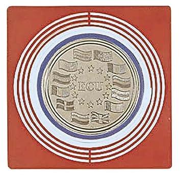 Lindner 2637 Bandejas para monedas-adaptadores grandes-Rojo oscuro
