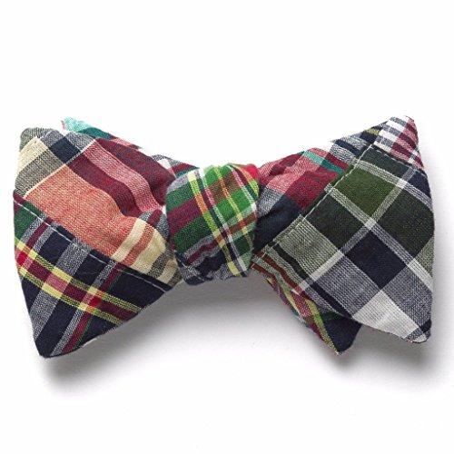 Patchwork Madras Bow Tie- Menemsha -