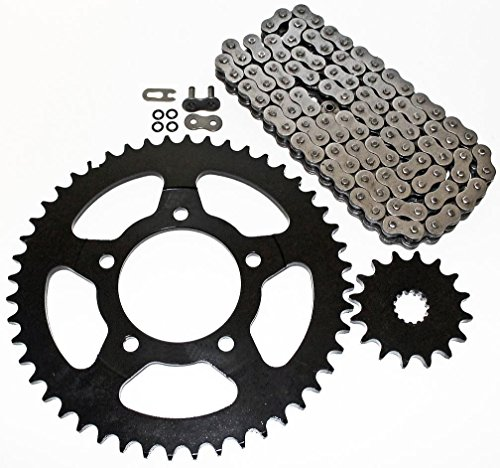 (2003-2010 Suzuki SV650 ABS O Ring Chain and Sprocket 15/45)