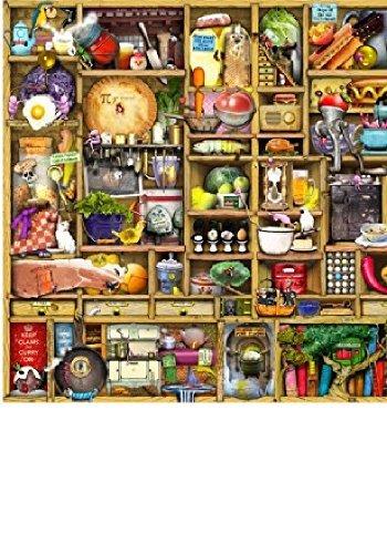 Wentworth Kitchen Cupboard 500 Piece Wooden Jigsaw ()