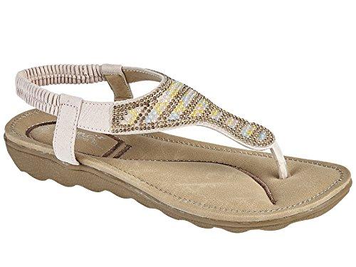 EMMA Shoes Damen Sandalen Hellrosa