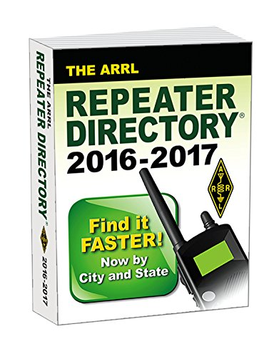 The ARRL Repeater Directory 2016/2017 Pocket Size Edition (Ham Repeater Directory)