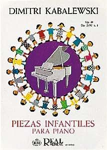 KABALEVSKY - Piezas Infantiles Op.39 y Op.51 nº 1 y 3 para Piano