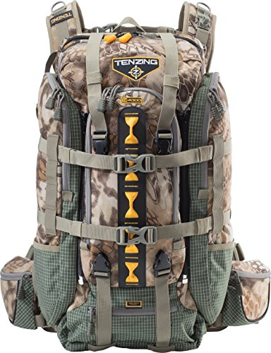 Tenzing TZ 4000 Back country Hunting and Hiking Pack with Rain Fly