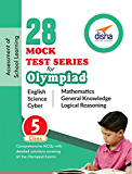 28 Mock Test Series for Olympiads Class 5 Science, Mathematics, English, Logical Reasoning, GK & Cyber