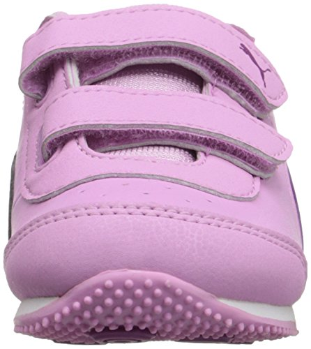Puma Kids Speed Light Up V Inf Sneaker Pastel Lavender/Hollyhock