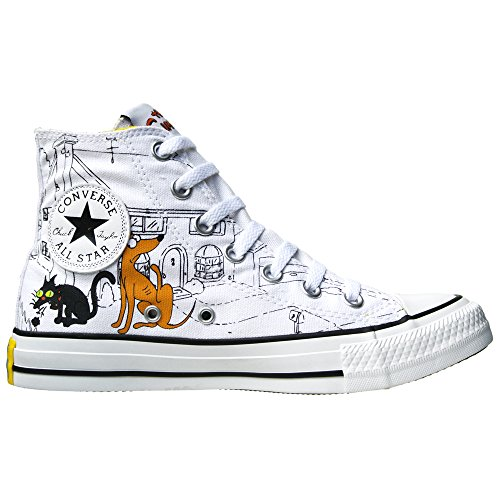 Converse All Stars Chuck Taylor Color: Blau, Gelb, Weiss THE SIMPSONS 146809 BART SIMPSON Gr: EU: 46 UK: 11 Limited Edition