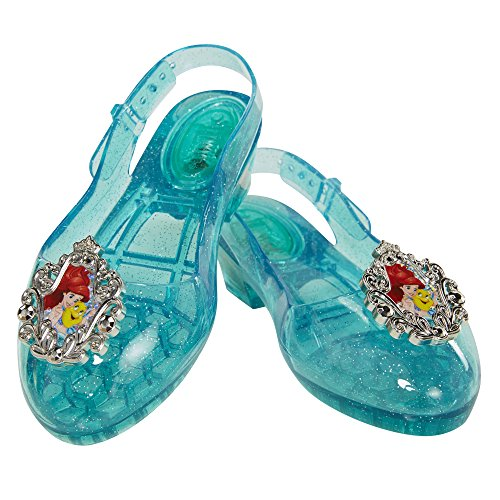Disney Princess Ariel Light-Up Shoes, Size: 9-11, [Amazon Exclusive] -