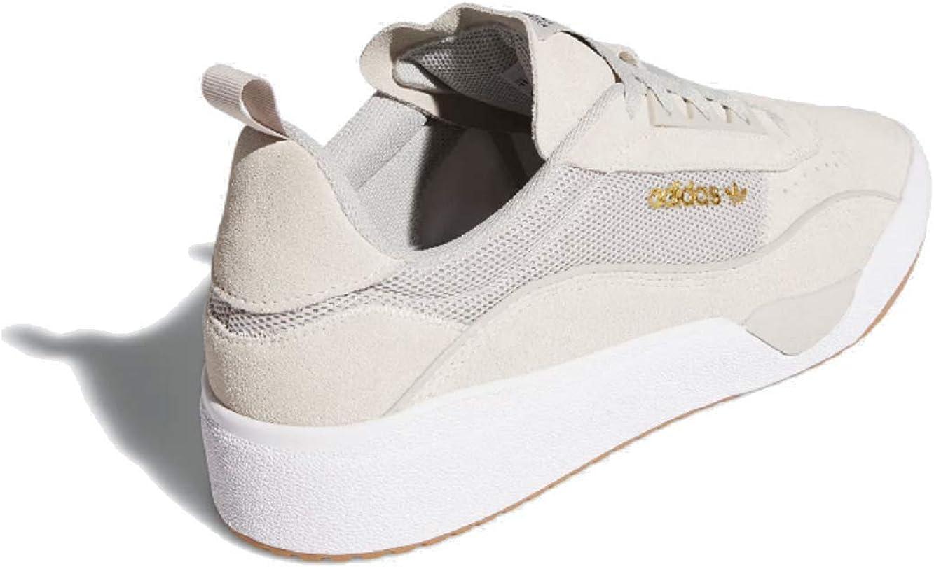 adidas Liberty Cup White//Gum 4//Gold Metallic Mens Skate Shoes-10