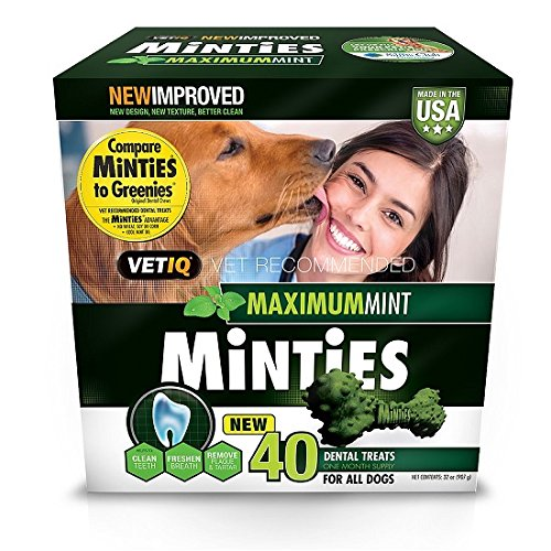 Minties Dental Dog Treats (40 ct.) (Bones Dental Vets Choice)
