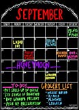 "Magnetic Dry Erase Calendar for Refrigerator Large 12"" x 16.5"" Monthly Family Fridge Calendar House Kitchen Planner Organizer Grocery List Magnet Message Board offers"